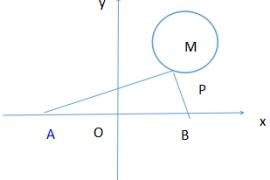 【九年上数学】关于圆的几个最小值问题